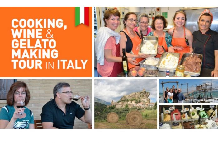 Cooking, Wine & Gelato Making Tour in Italy