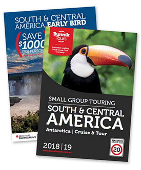 Bunnik Tours South and Central America 2018/19