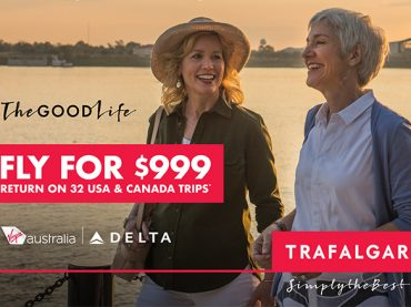 Fly For $999 Return on 32 USA & Canada Trips