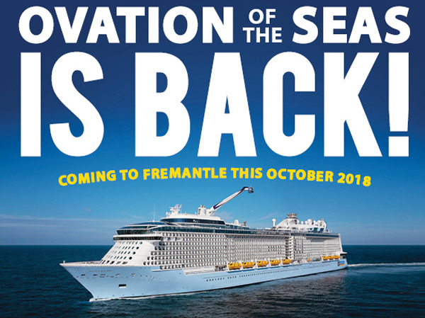 Ovation of the Seas is Back!