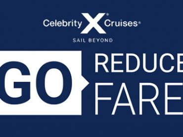 Just GO! Reduced Fares from Celebrity