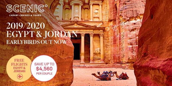 Egypt & Jordan River Cruising Earlybirds Offer