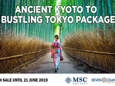 Cruise Japan with this Hot Package Deal!