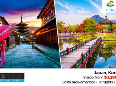 Japan, Korea and Russia Fly, Stay and Cruise