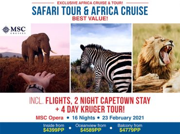 (English) EXCLUSIVE: Safari Tour & Africa Cruise | 16 nights from $4399pp!