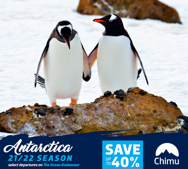 Antarctica 2021/2022 Flash Sale!
